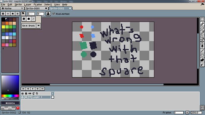 square bug