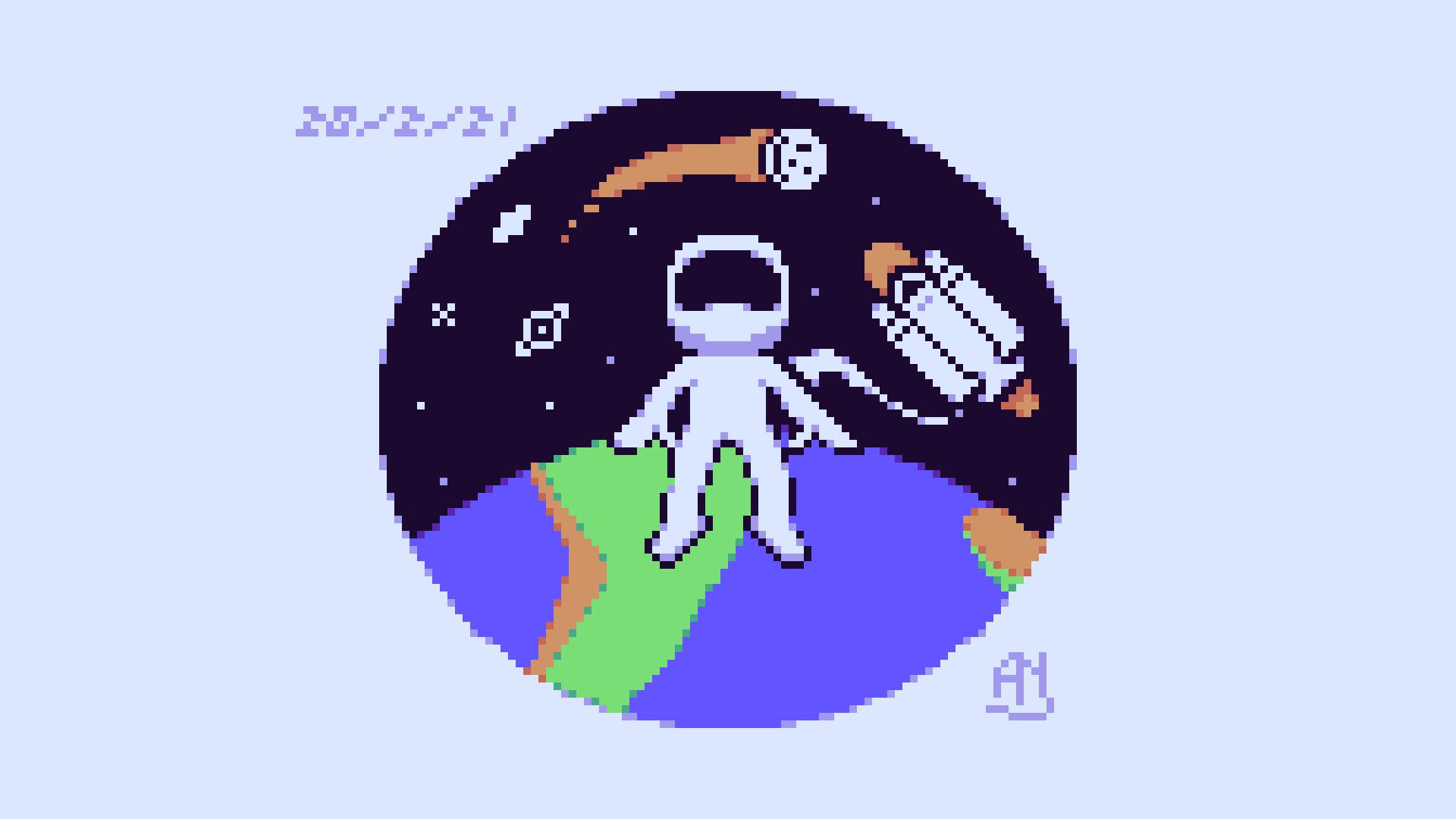 AstronautMoon
