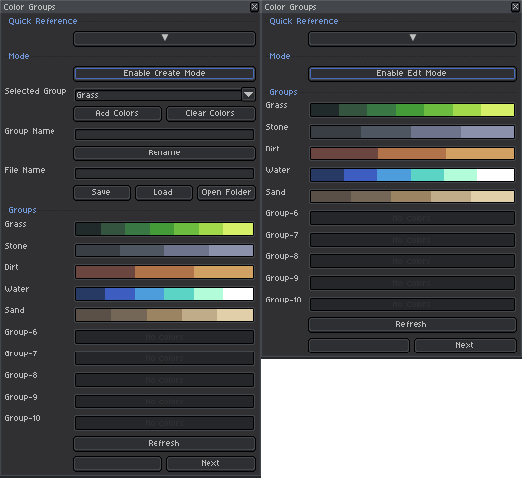 colorgroups